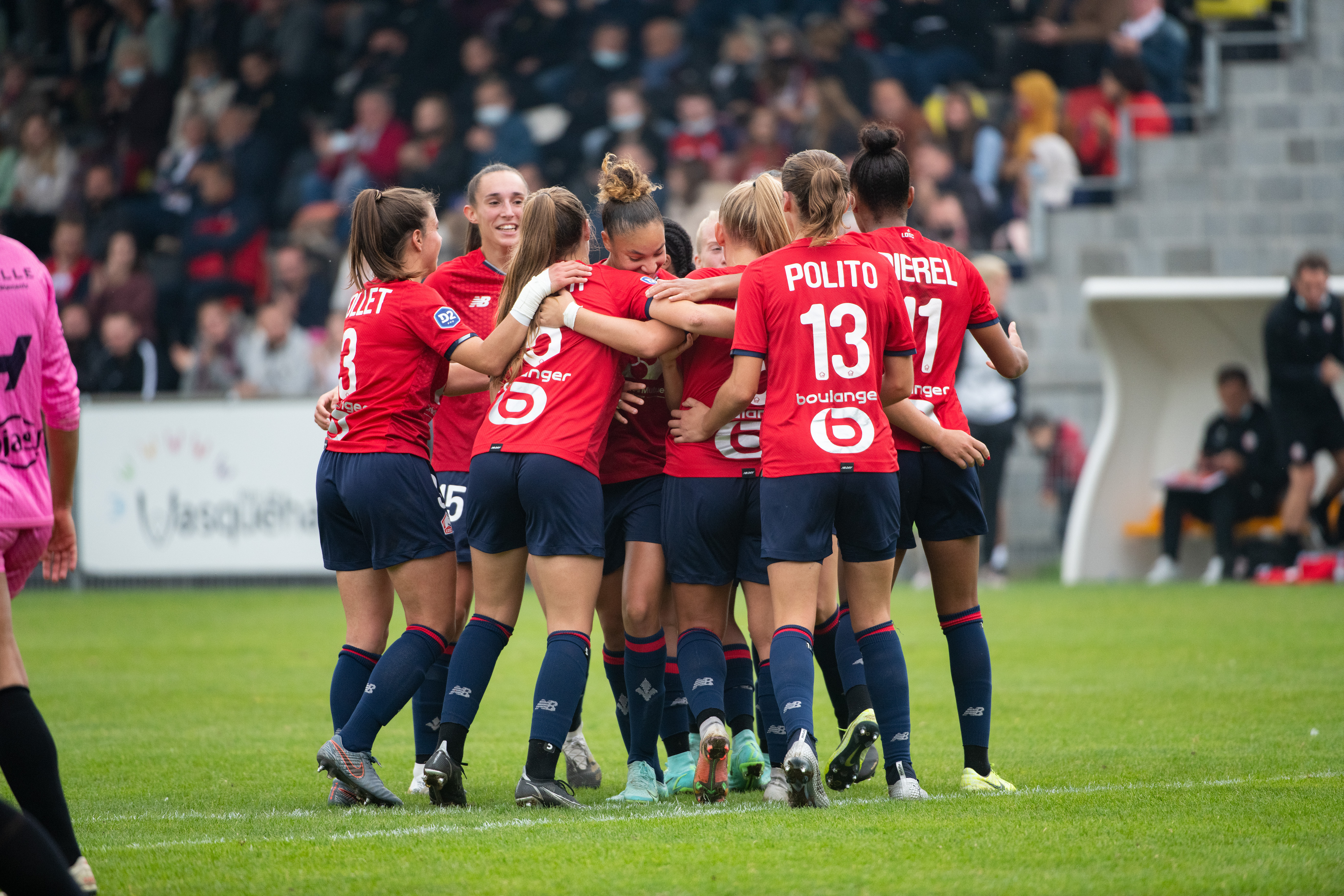 FC Nantes – LOSC on show this Sunday for our girls