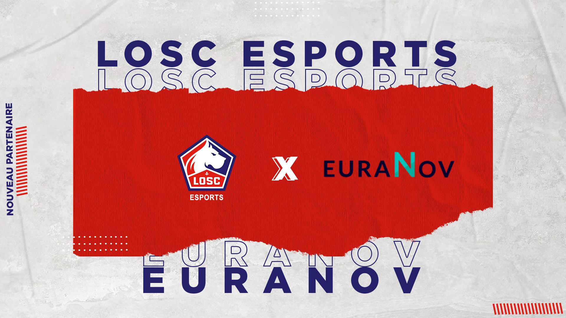 EURANOV, new member of LOSC ESPORTS
